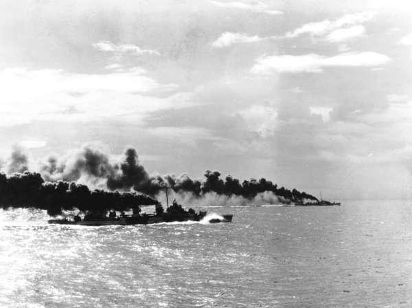 USS Heermann & USS John C. Butler