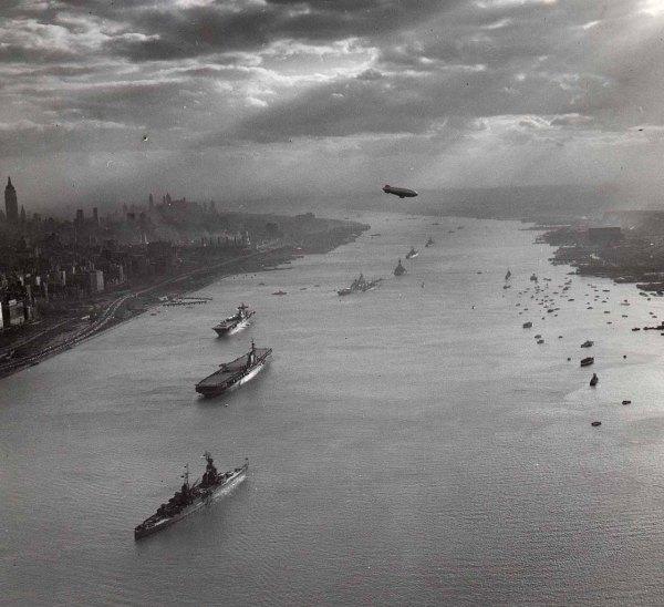 Navy Day 1945 - Hudson River NY