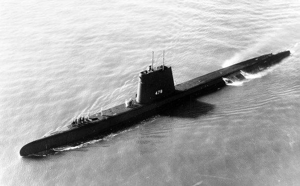 USS Cutlass SS-478 03 - NHHC