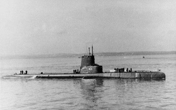 USS Tench SS417 - NHHC