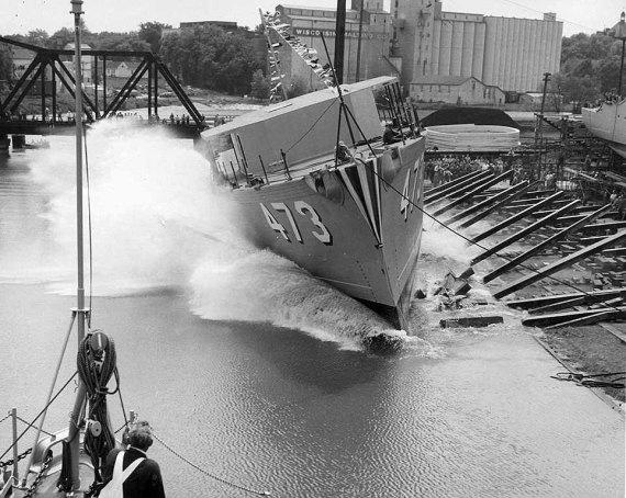 USS Vigor AM476 - NVS
