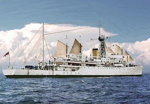 HMS Dampier