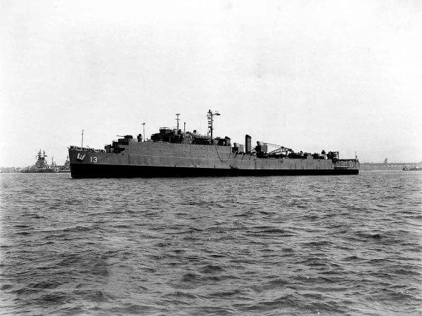 USS Casa Grande LSD13 - WK