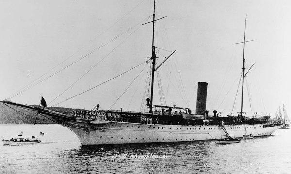 USS Mayflower - NHHC
