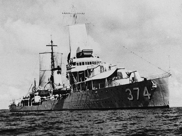 USS Tucker DD374 - NHHC