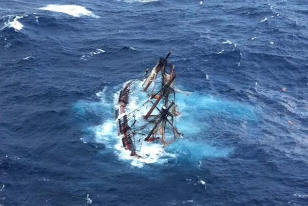 Bounty - naufragio -USCG