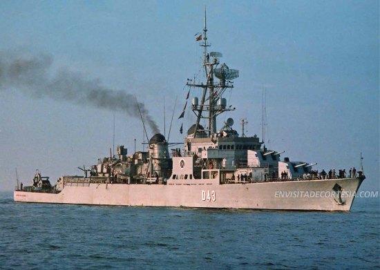 Marques de la Ensenada D43 - JMF 02M