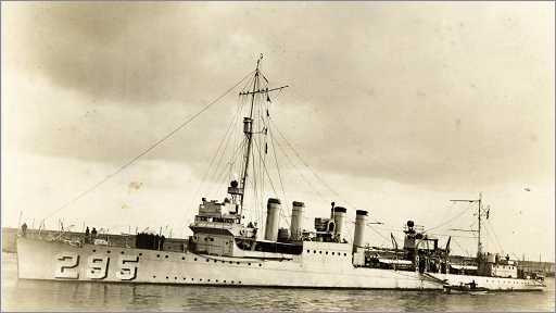 USS Osborne DD295 - MMB