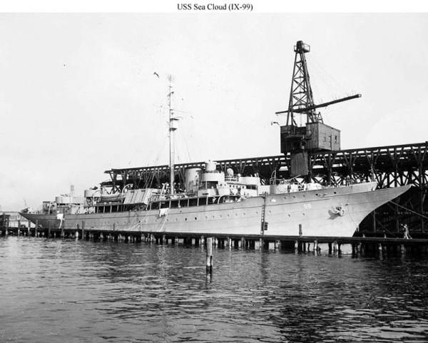 USS Sea Cloud IX99 - NVS
